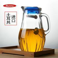 土耳其原装进口玻璃大容量茶壶 凉水杯无铅钢化耐热壶 家用冷水壶
