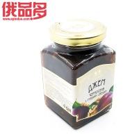 森林草原牌 果酱(李子和核桃口味) 玻璃瓶装 300g