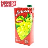 喜爱葡萄和苹果饮料 0.95L