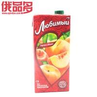 (喜爱)桃和苹果味饮料 0.95L