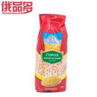 彼得罗夫斯基牌 碎豌豆 粗粮 杂粮 健康食品 红袋 800g/