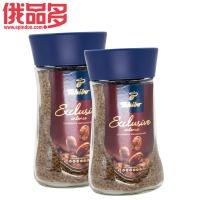 绮吧 奇堡 浓香咖啡速溶 95克瓶装(褐色)