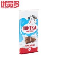 白牛头 块状牛奶巧克力 80g