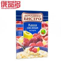 彼斯特罗 家庭装燕麦粥 什锦口味(樱桃,马林果,苹果) 即食 盒装 228g 6包