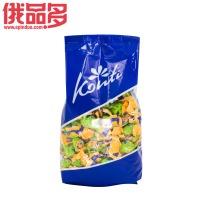 Konti罗尼牌 苹果味水果软糖 夹心果冻糖 qq糖 橡皮糖 1000g