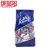Konti罗尼牌 樱桃味水果软糖 夹心果冻糖 qq糖 橡皮糖 1000g