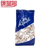 Konti罗尼牌小牛牛奶味水果软糖 夹心果冻糖 qq糖 橡皮糖 1000g