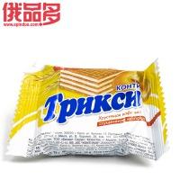 конти   трикси 孔季 特丽克西 松脆威化 炼乳味18g