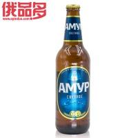 C阿穆尔 淡色啤酒玻璃瓶0.48L