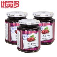 六楞瓶 马林果味果酱 树莓果酱 瓶装 230g