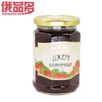 八菱森林草原牌 果酱 (草莓味)玻璃瓶装 360g