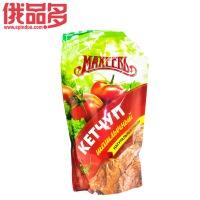 俄罗斯махеевь  玛赫威番茄酱 带蔬菜块 天然调味品500g