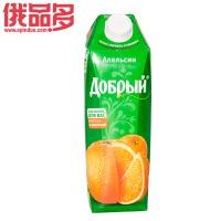 善良牌 善牌 橙子味果汁饮料(含果肉) 1L