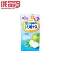 水果阿姨 苹果茴香味果汁儿童饮料 适用于6个月以上的儿童 0.2ml 纯天然