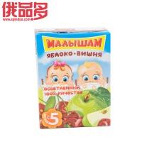 娃娃头 儿童果汁饮料 苹果和樱桃 口味 适用于5个月以上儿童 0.2ml
