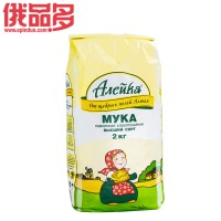 阿列伊卡 高等小麦烘培面粉 2kg