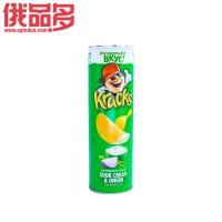 Kracks 薯片 酸奶油葱花味 桶装 160g
