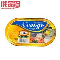 wilke 西红柿汁鲱鱼罐头