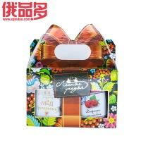 森林草原 礼盒装双罐装蜂蜜+果酱(荞麦蜂蜜250g+马琳果果酱230g)