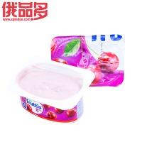 果肉益生菌酸奶(樱桃口味)8%酸奶