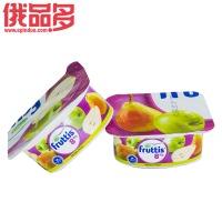 果肉益生菌酸奶(苹果和梨口味)8%酸奶