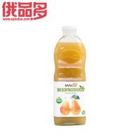 Off 梨汁饮料(含果肉)  玻璃瓶装 1.0L