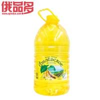 营养大豆油 非转基因 维生素E、F一级豆油5L烘培原料 桶装 5升