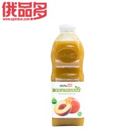 Off桃饮料 果汁 玻璃瓶装 1.0L