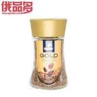 绮吧 奇堡 金牌咖啡 速溶 47.5克瓶装