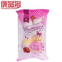 洁雅 空气之吻 粉白泽菲尔糖 (草莓)250g