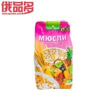 格兰诺拉           果脯水果味燕麦片 混合水果味 400g/