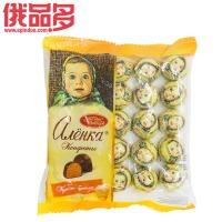 爱莲巧(大头娃娃) 焦糖布丁口味巧克力糖 250g