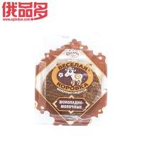 薄雾快乐小牛牛奶巧克力拉丝饼150g
