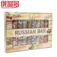 CONFASHION 俄罗斯特色酒会 什锦夹心巧克力 礼盒装 240g