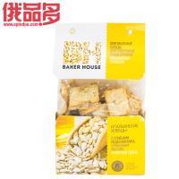 BAKER HOUSE牌      意大利小饼干(葵花籽,橄榄油和海盐口味)