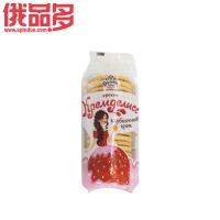 薄雾 闺蜜草莓夹心酥脆饼干 155g